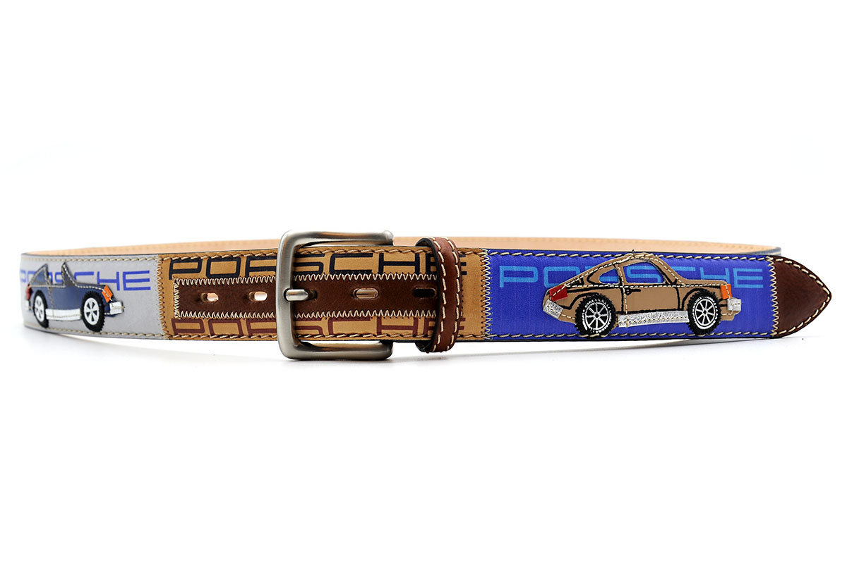 Ledergürtel Frame Porsche