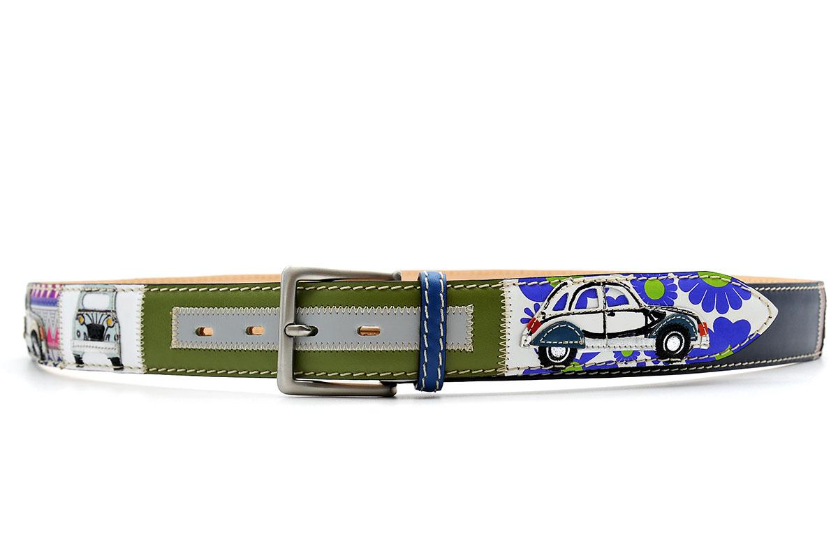 Ledergürtel Citroen 2CV