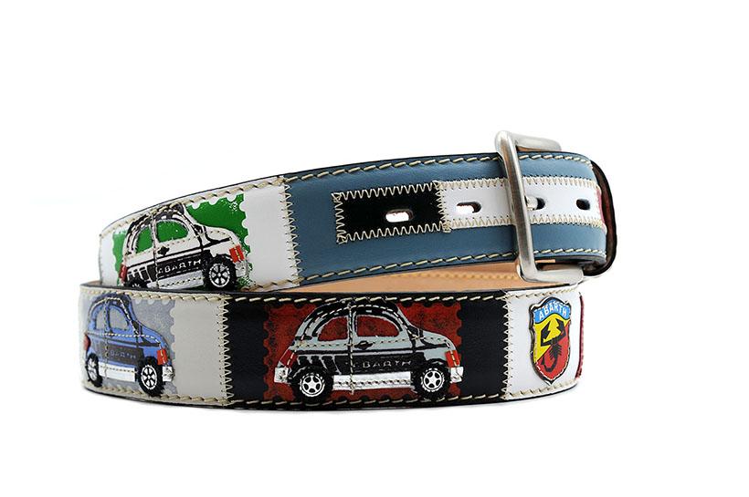 Ledergürtel Fiat Abarth 595